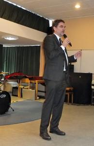 Bergedorfs Bezirksamtsleiter beim Neujahrsempfang in Bergedorf-West