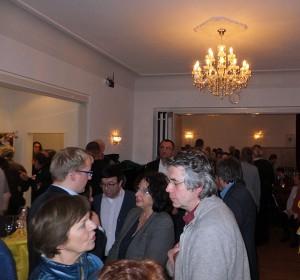 Rund 90 Interessierte kamen ins KIKU zum Neujahrsempfang des Stadtteilbüros Lohbrügge